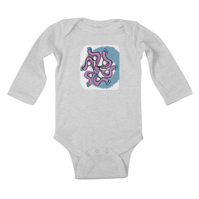 OCTO Kids Baby Longsleeve Bodysuit by Artluvr80's Shop