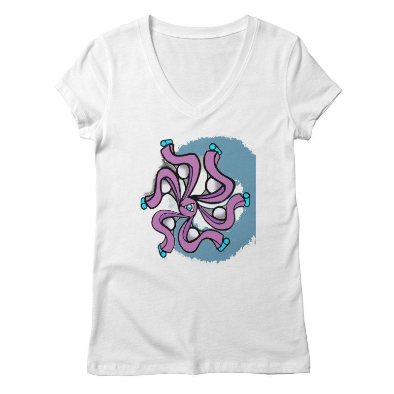 OCTO Women's V-Neck by Artluvr80's Shop