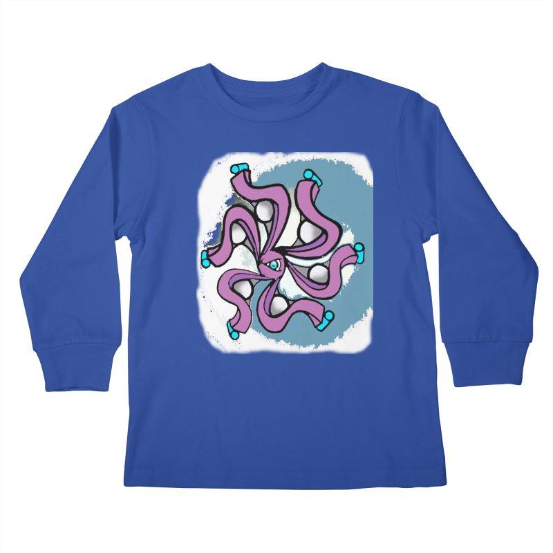 OCTO Kids Longsleeve T-Shirt by Artluvr80's Shop