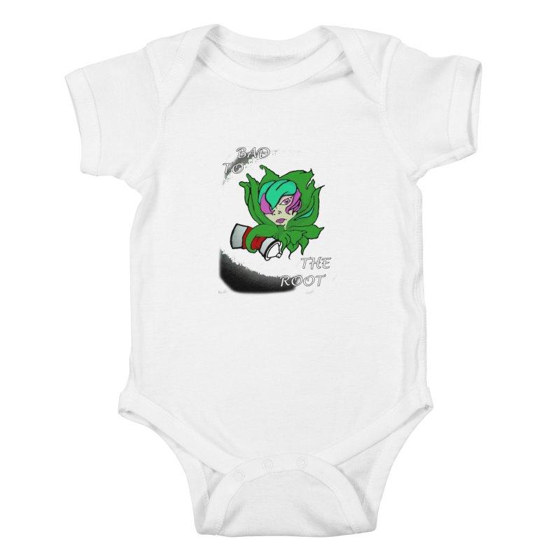 PLANT Kids Baby Bodysuit by Artluvr80's Shop