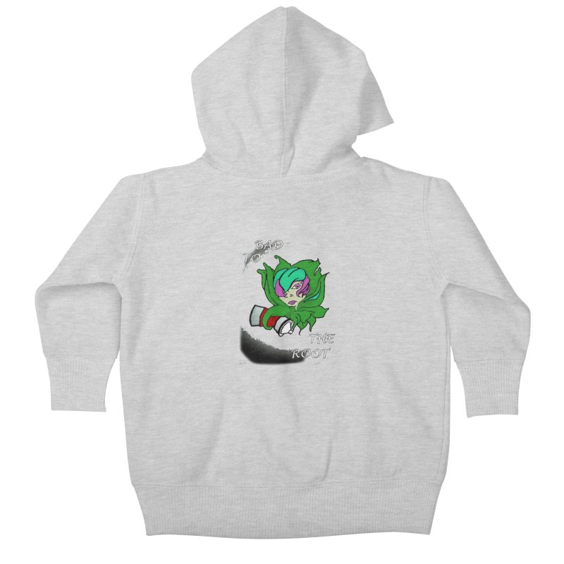 PLANT Kids Baby Zip-Up Hoody by Artluvr80's Shop