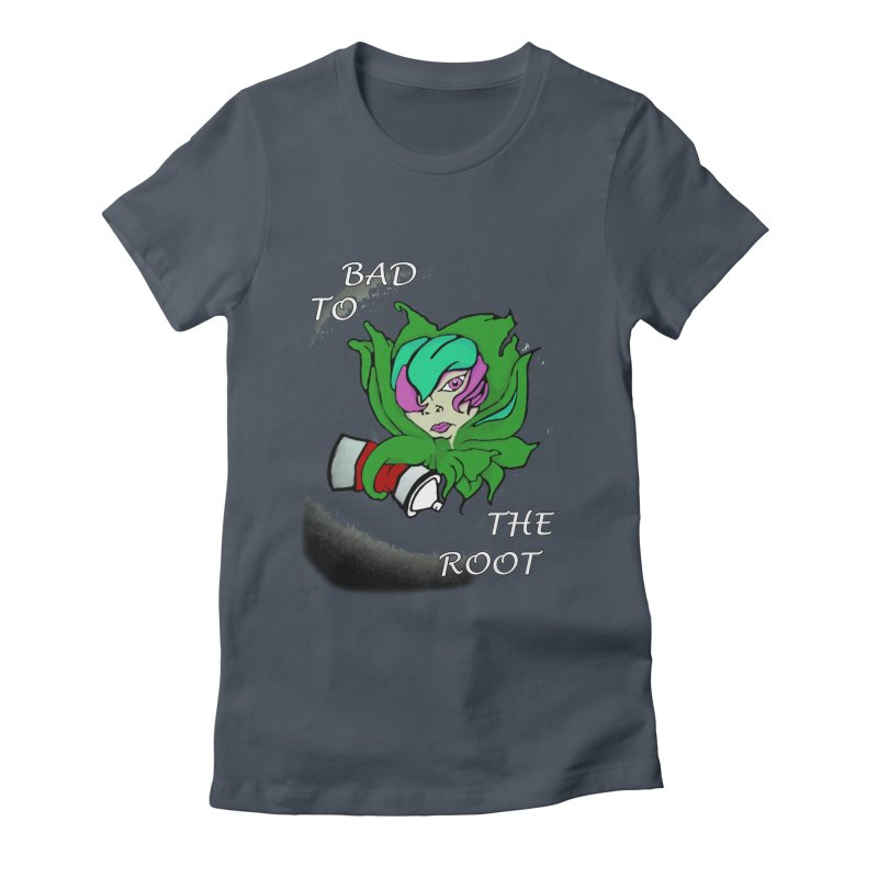 PLANT Women's Fitted T-Shirt by Artluvr80's Shop