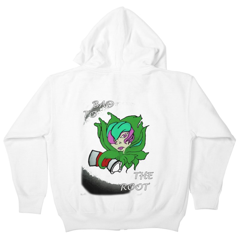 PLANT Kids Zip-Up Hoody by Artluvr80's Shop