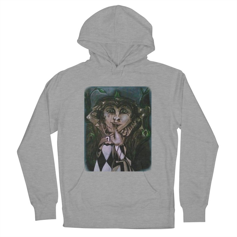 POKERFACE Women's French Terry Pullover Hoody by Artluvr80's Shop