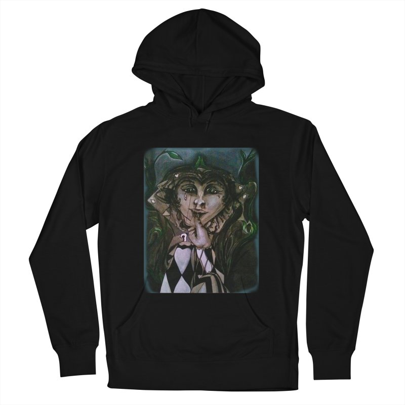 POKERFACE Women's Pullover Hoody by Artluvr80's Shop