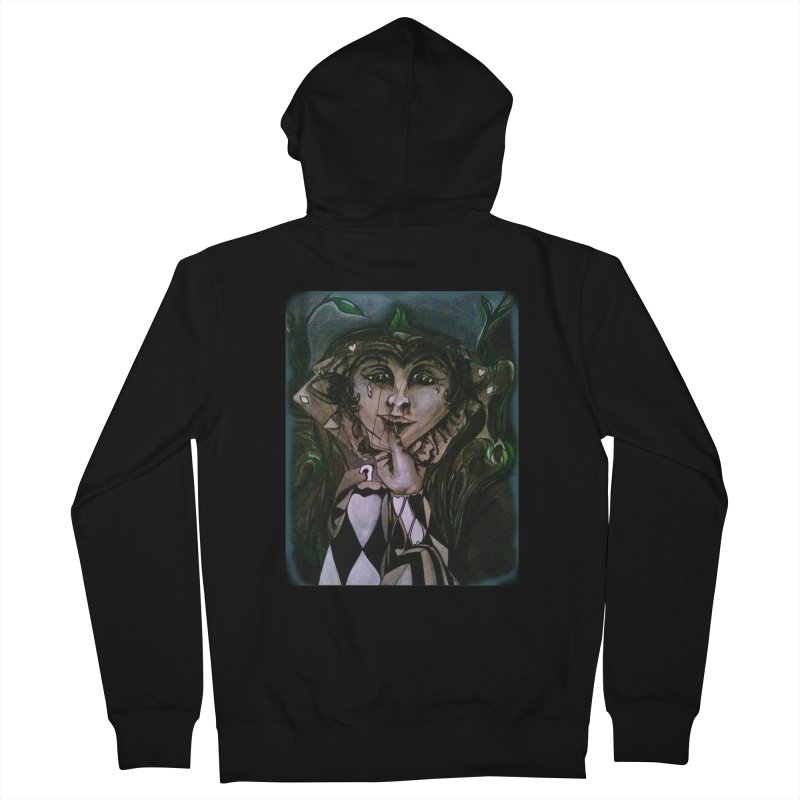 POKERFACE Women's French Terry Zip-Up Hoody by Artluvr80's Shop