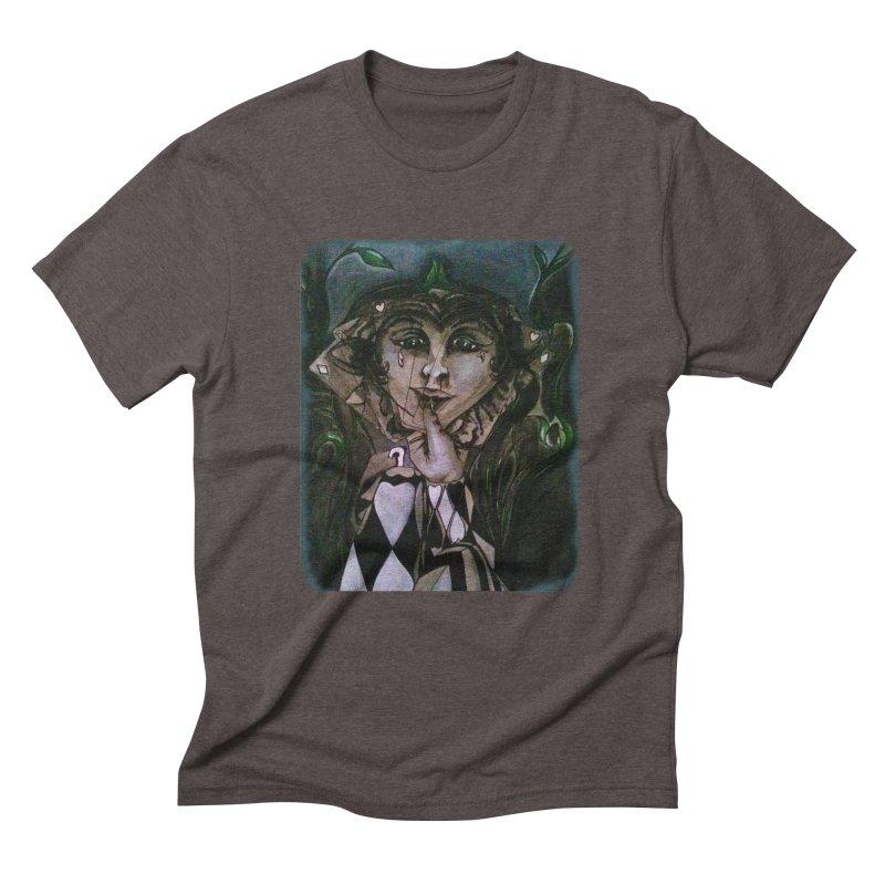 POKERFACE Men's Triblend T-Shirt by Artluvr80's Shop