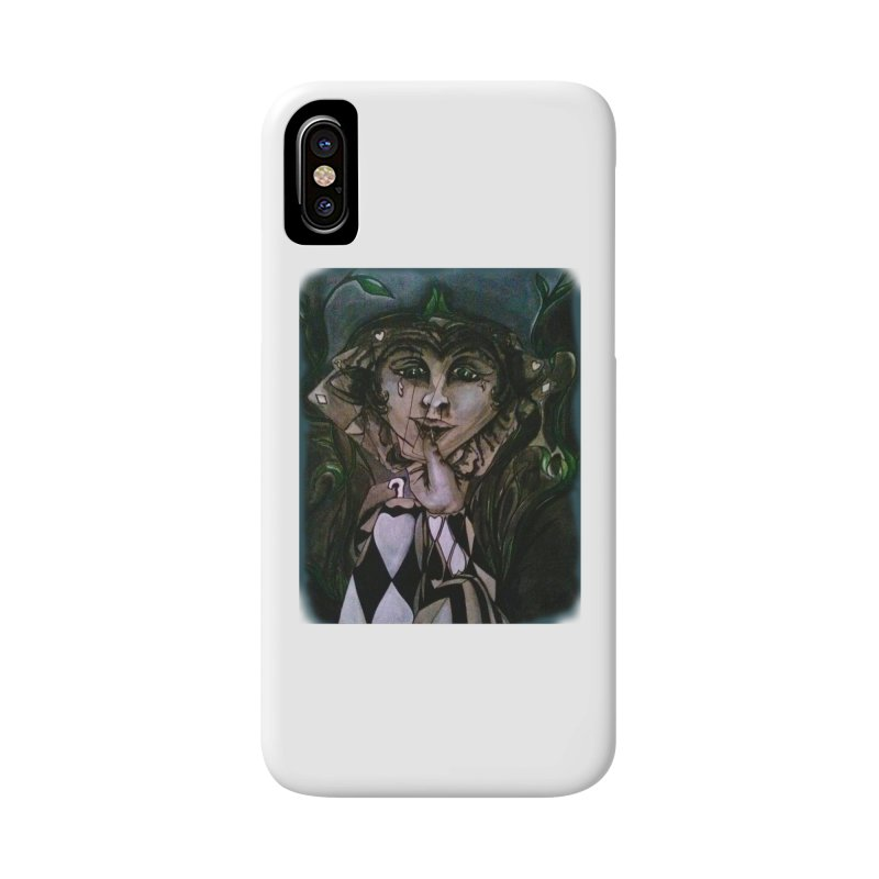 POKERFACE Accessories Phone Case by Artluvr80's Shop