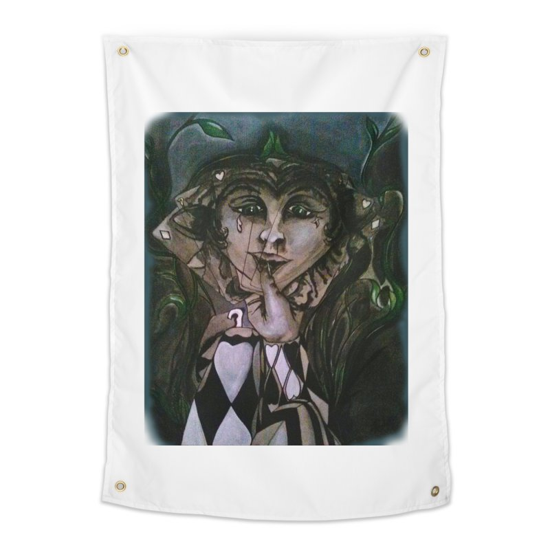 POKERFACE Home Tapestry by Artluvr80's Shop