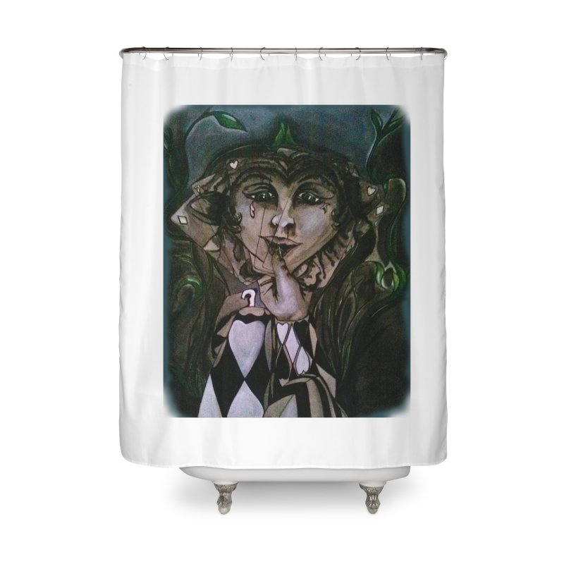 POKERFACE Home Shower Curtain by Artluvr80's Shop
