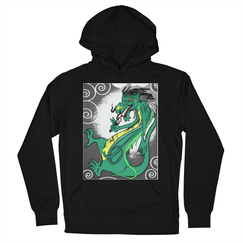 RRDRAGON Women's French Terry Pullover Hoody by Artluvr80's Shop