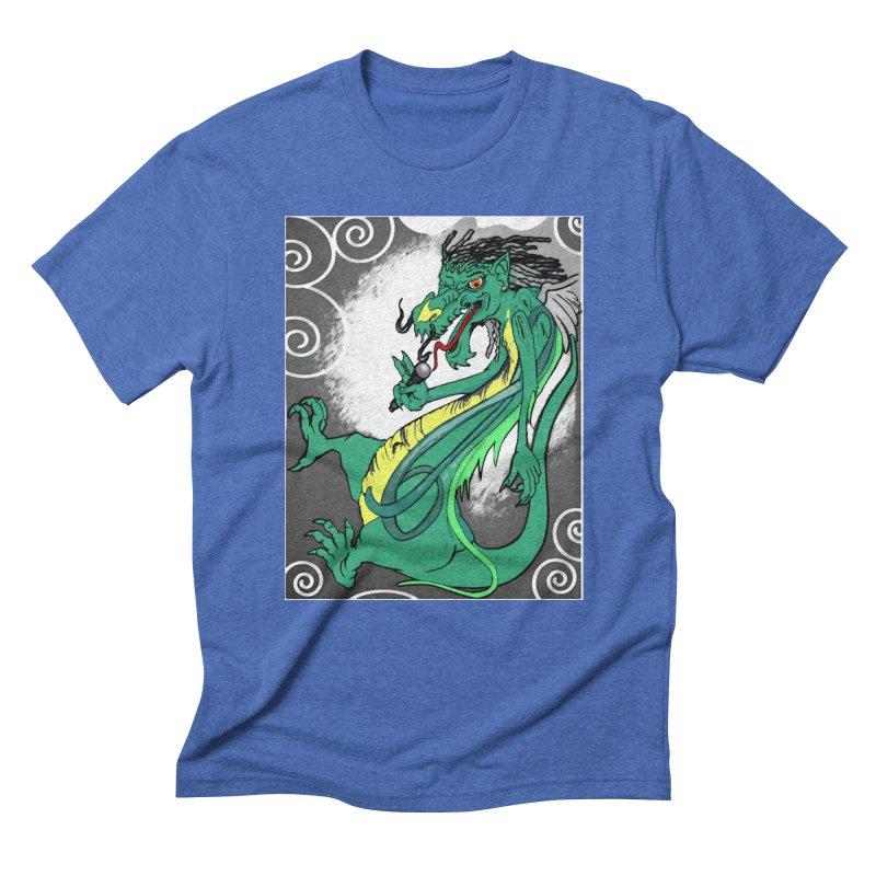 RRDRAGON Men's Triblend T-Shirt by Artluvr80's Shop
