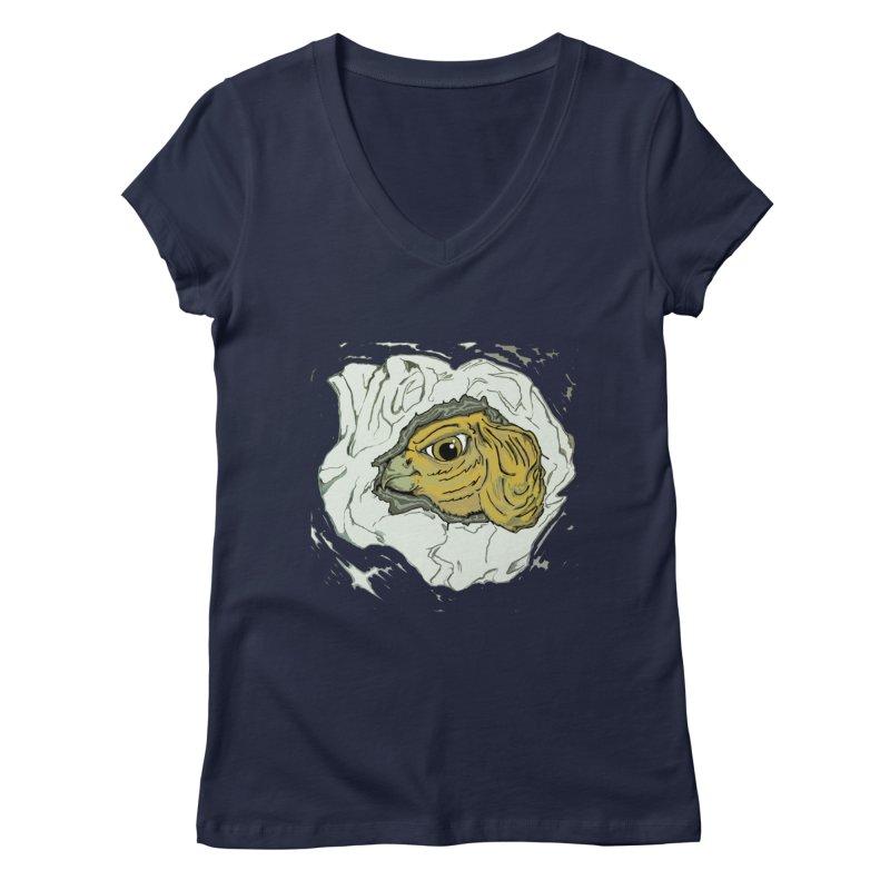 PaperEagle1 Women's V-Neck by Artluvr80's Shop