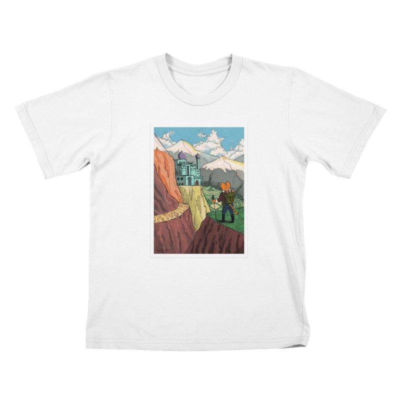 Lost Horizon Kids T-shirt by Art of Damz Shop
