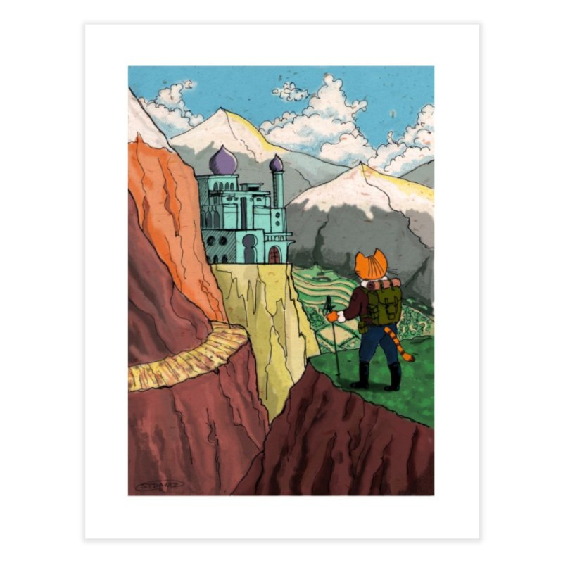 Lost Horizon Home Fine Art Print by Art of Damz Shop
