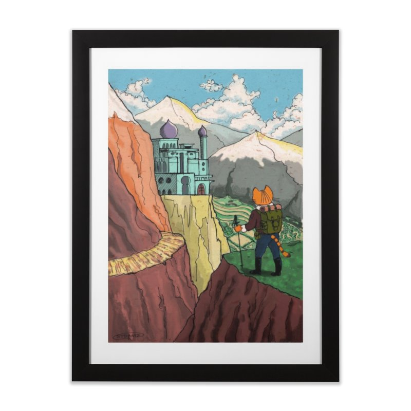 Lost Horizon Home Framed Fine Art Print by Art of Damz Shop