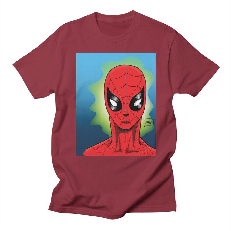 Spidey Men's T-shirt by Artofplo's Artist Shop