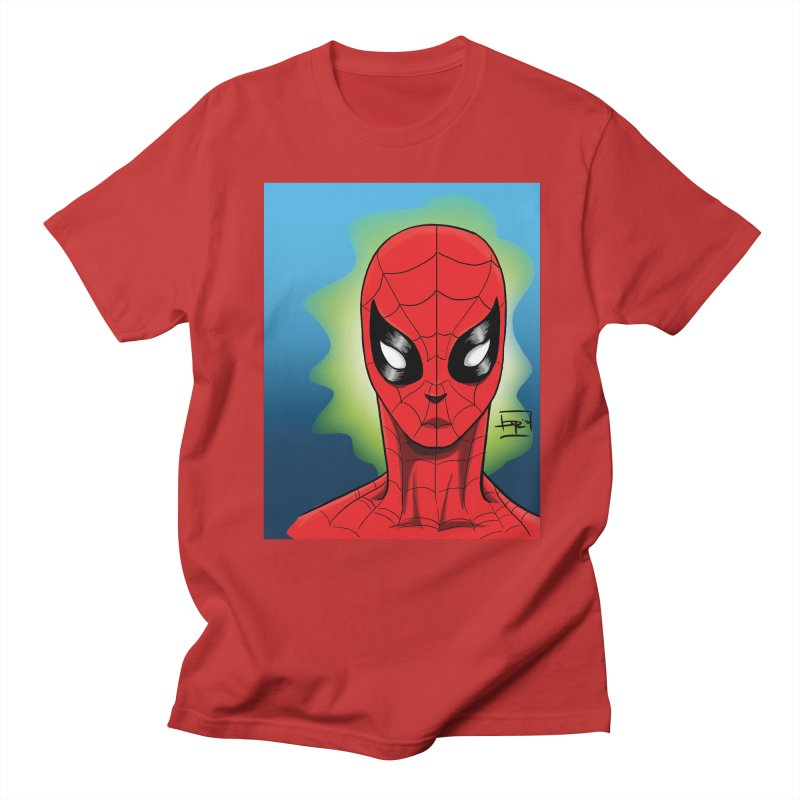 Spidey Men's T-shirt by Artofplo's Artist Shop