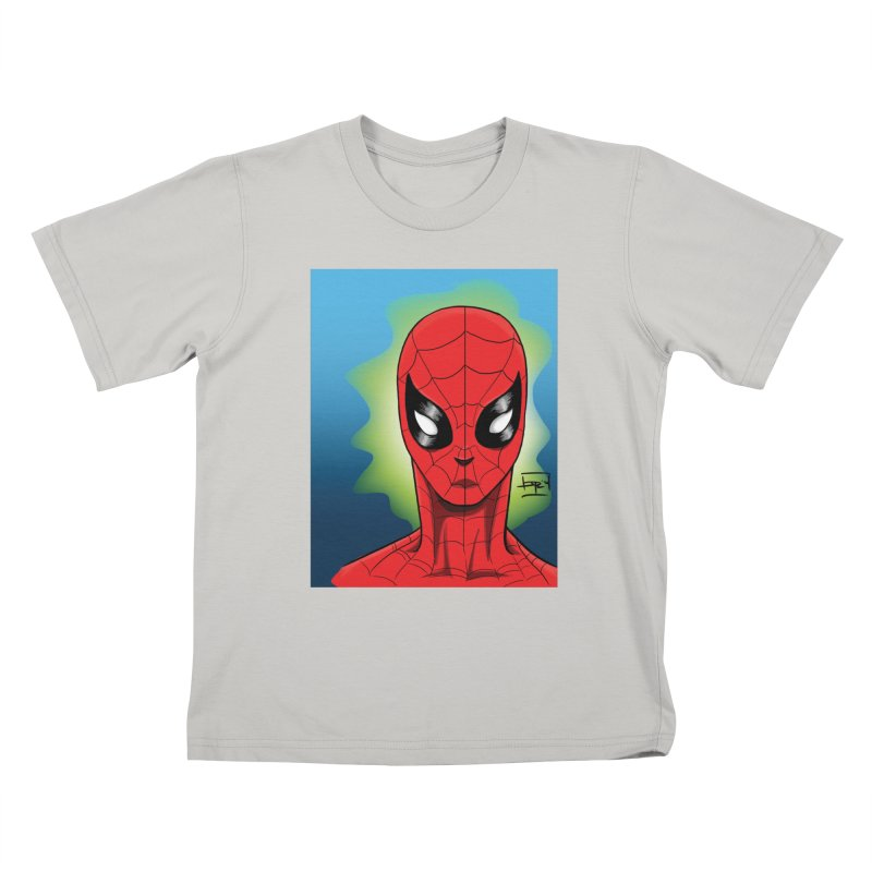 Spidey Kids T-shirt by Artofplo's Artist Shop