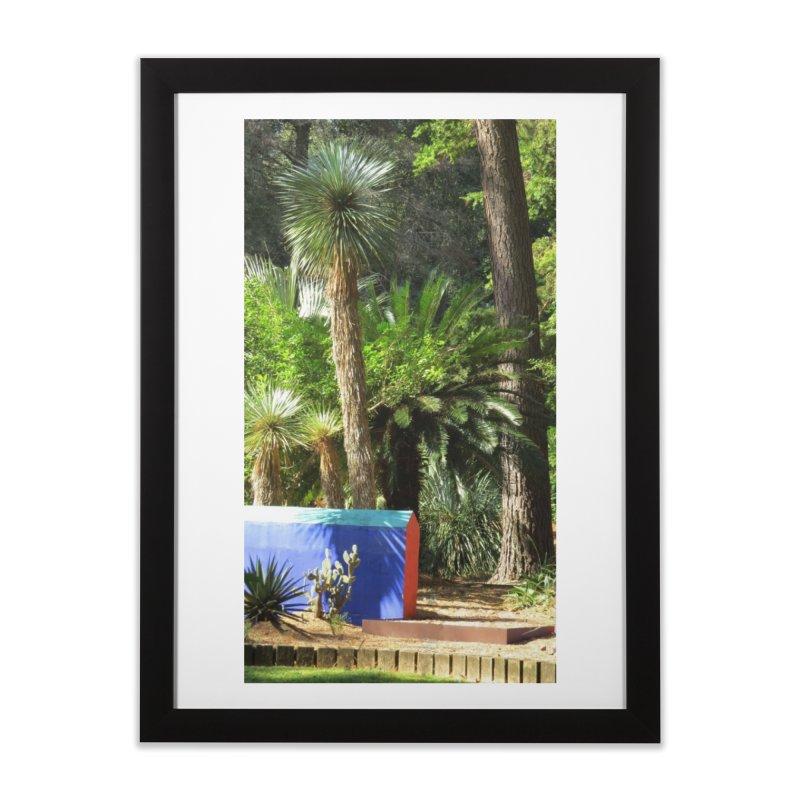 A tribute garden to Frida Kahlo Home Framed Fine Art Print by ArtsFolly's Artist Shop