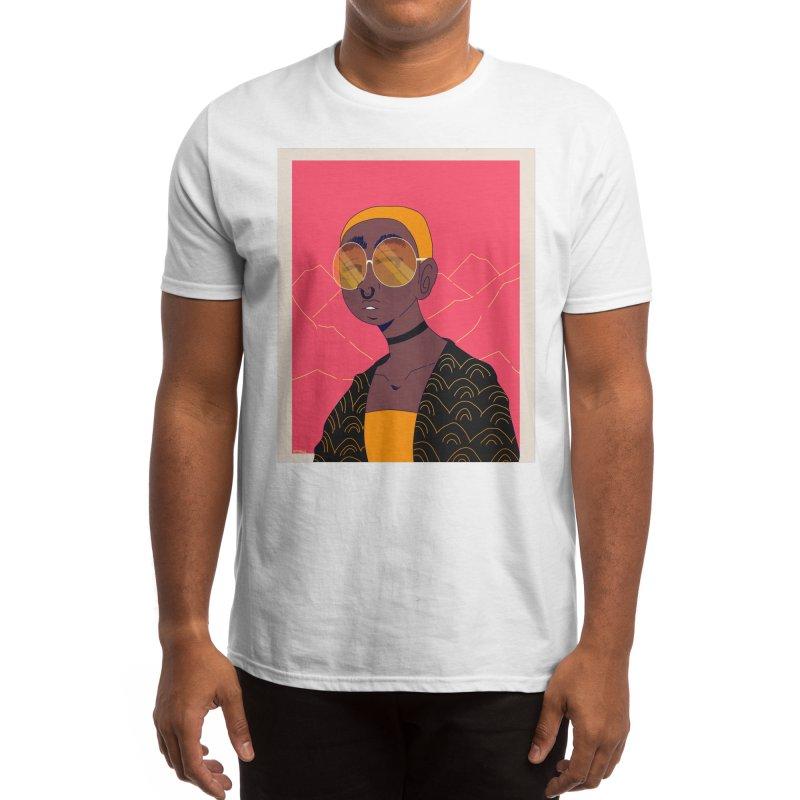 Black and Gold Men's T-Shirt by ArtySoul2's Shop