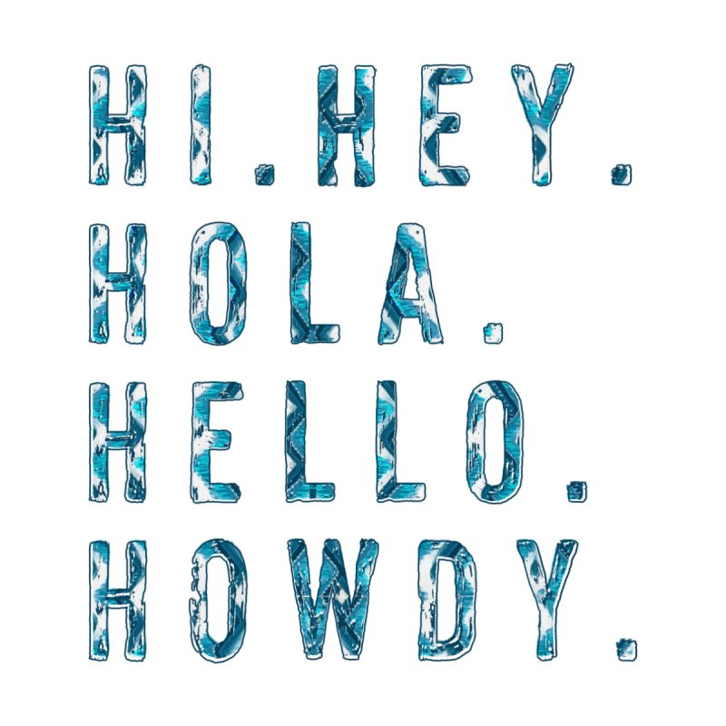 Howdy Greeting Card Accessories Greeting Card by Ash Whitt Studio