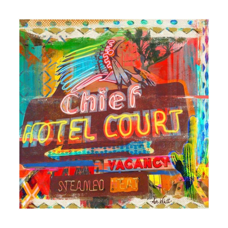 Chief Hotel Court Home Fine Art Print by Ash Whitt Studio