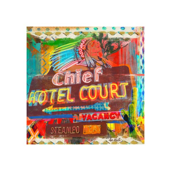 Design for Chief Hotel Court