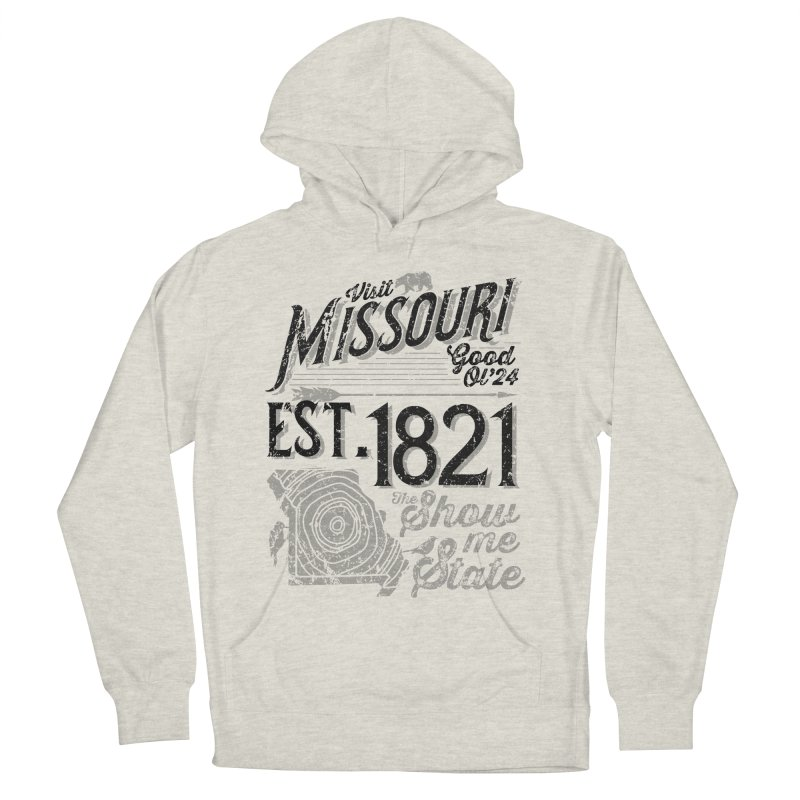 Visit Missouri Women's French Terry Pullover Hoody by Jesse Nickles