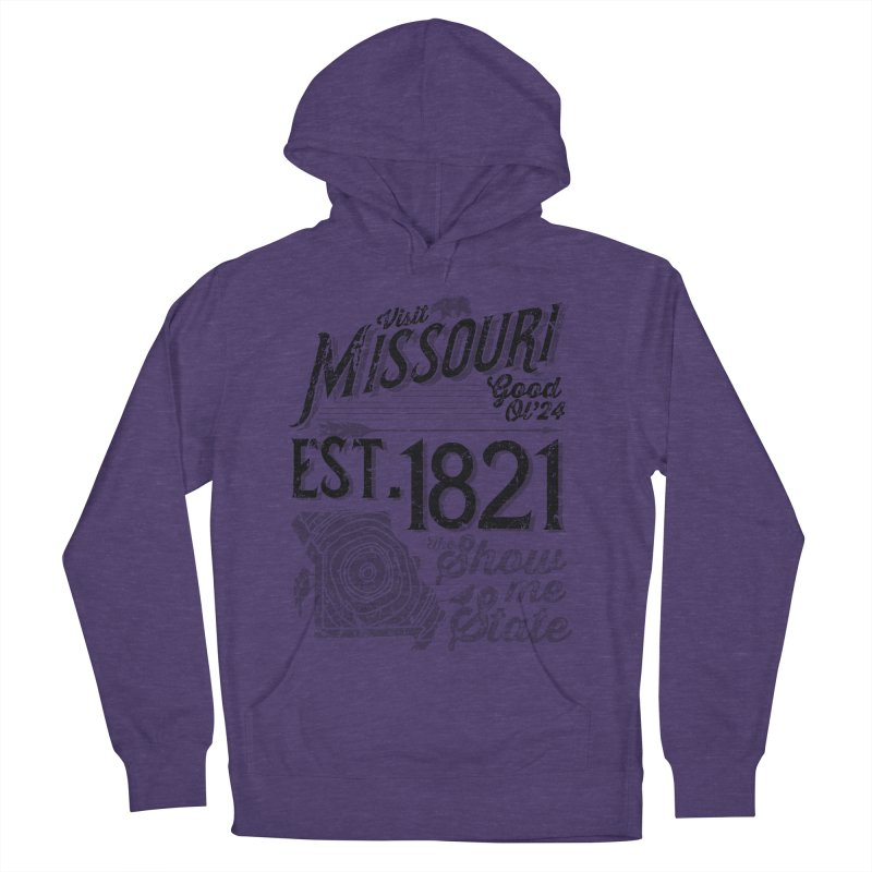 Visit Missouri Men's French Terry Pullover Hoody by Jesse Nickles