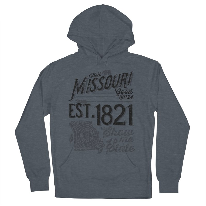 Visit Missouri Men's Pullover Hoody by Jesse Nickles