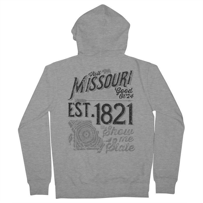 Visit Missouri Women's Zip-Up Hoody by Jesse Nickles