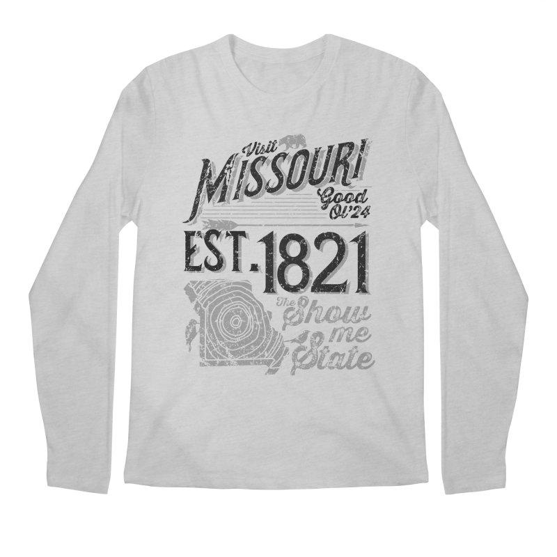 Visit Missouri Men's Longsleeve T-Shirt by Jesse Nickles