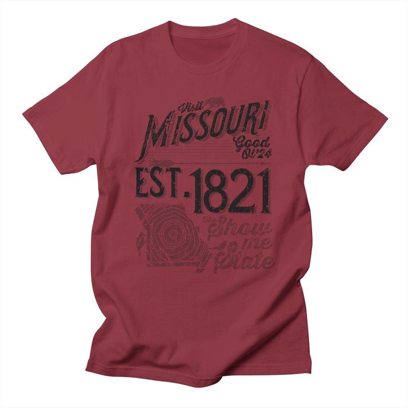 Visit Missouri Men's T-Shirt by Jesse Nickles