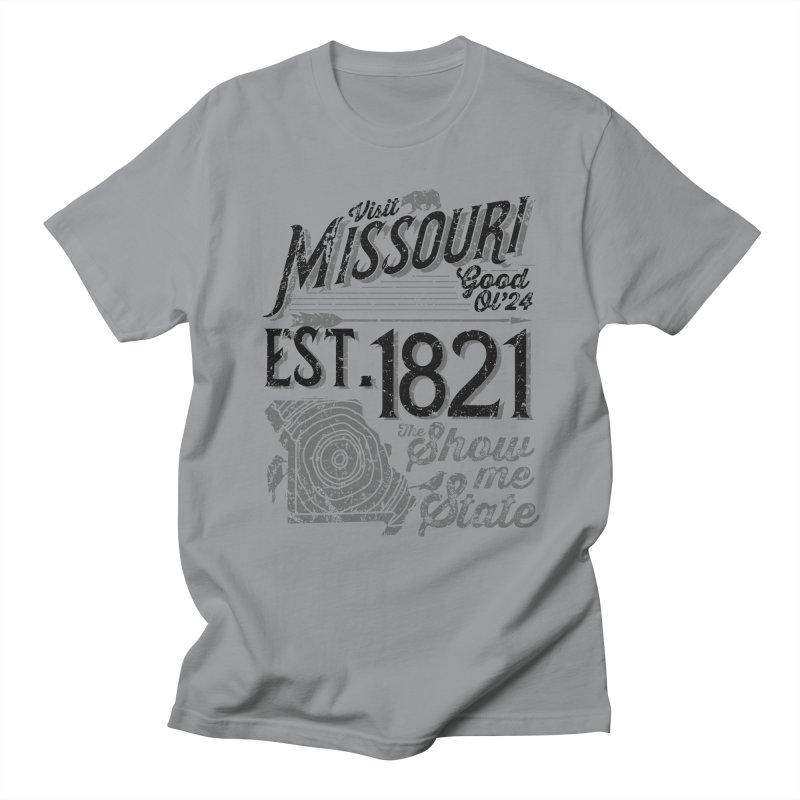 Visit Missouri Women's Unisex T-Shirt by Atomica Press