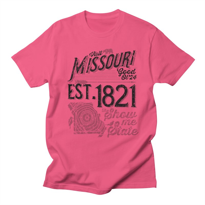 Visit Missouri Women's Regular Unisex T-Shirt by Jesse Nickles
