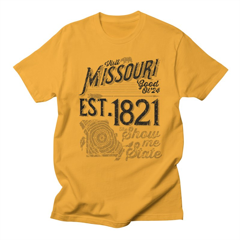 Visit Missouri Men's Regular T-Shirt by Jesse Nickles
