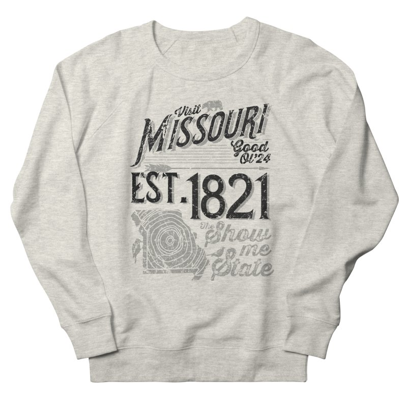 Visit Missouri Women's French Terry Sweatshirt by Jesse Nickles