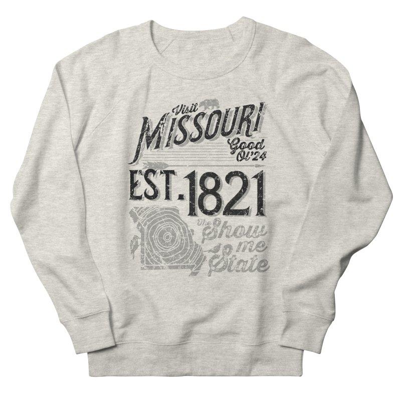 Visit Missouri Men's French Terry Sweatshirt by Jesse Nickles