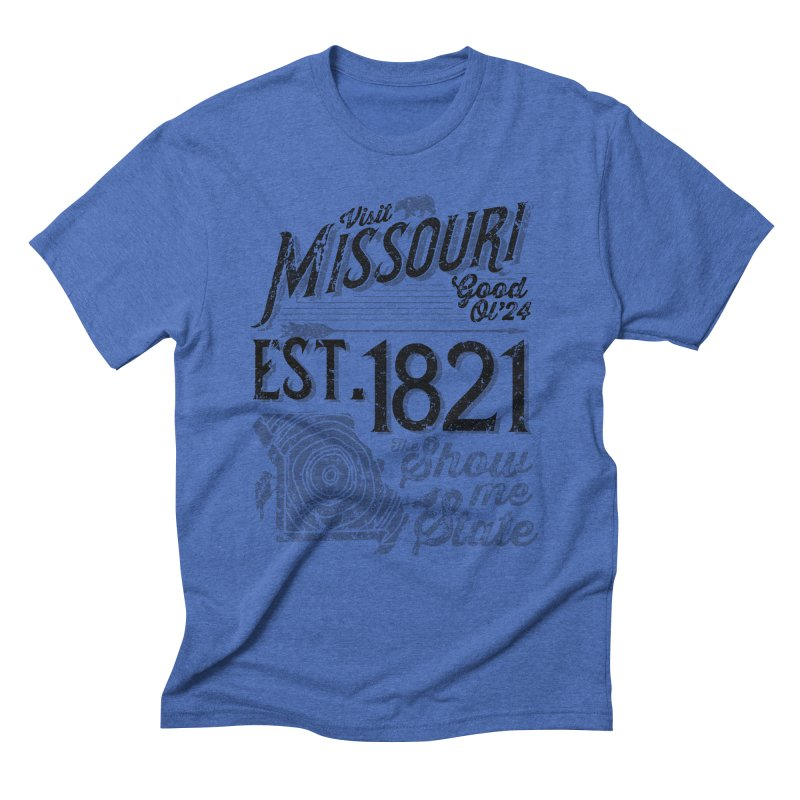 Visit Missouri Men's Triblend T-Shirt by Jesse Nickles