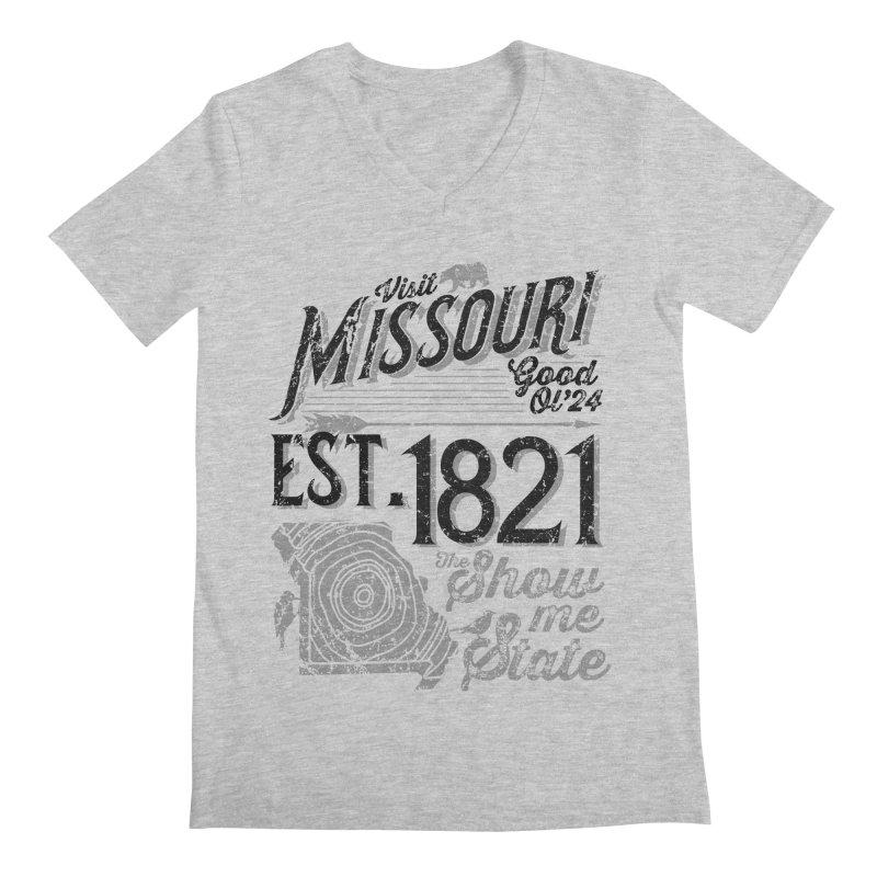 Visit Missouri Men's V-Neck by Jesse Nickles