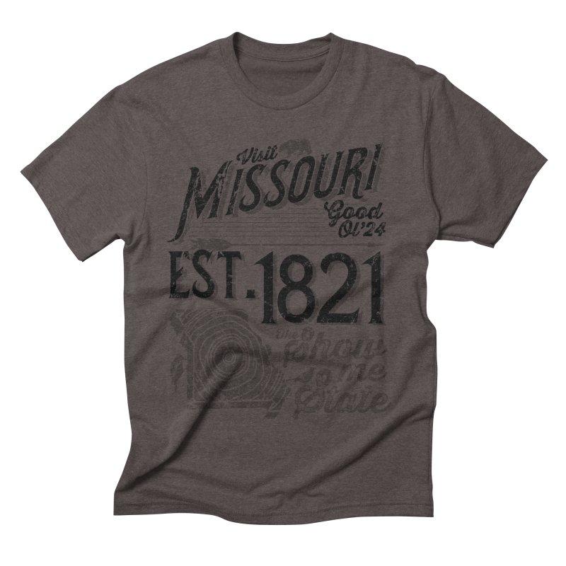 Visit Missouri Men's Triblend T-shirt by Jesse Nickles