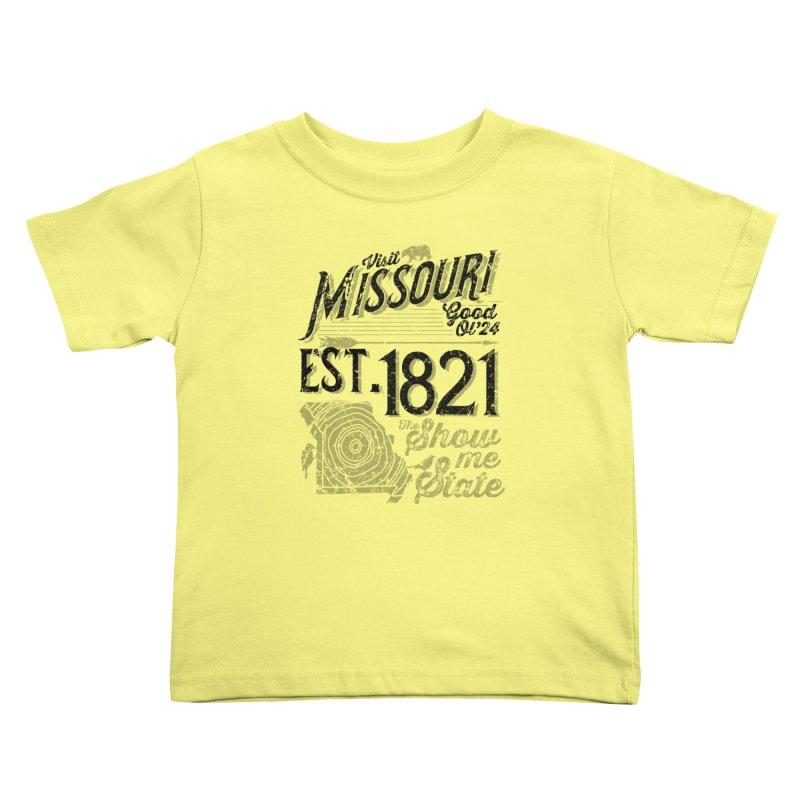 Visit Missouri Kids Toddler T-Shirt by Jesse Nickles