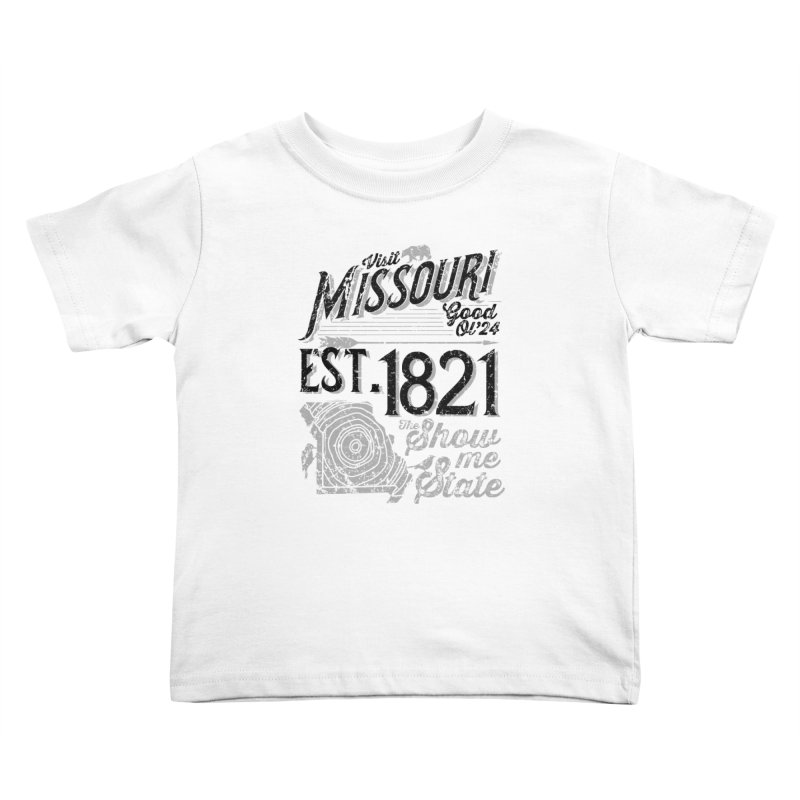 Visit Missouri Kids Toddler T-Shirt by Jesse Nickles