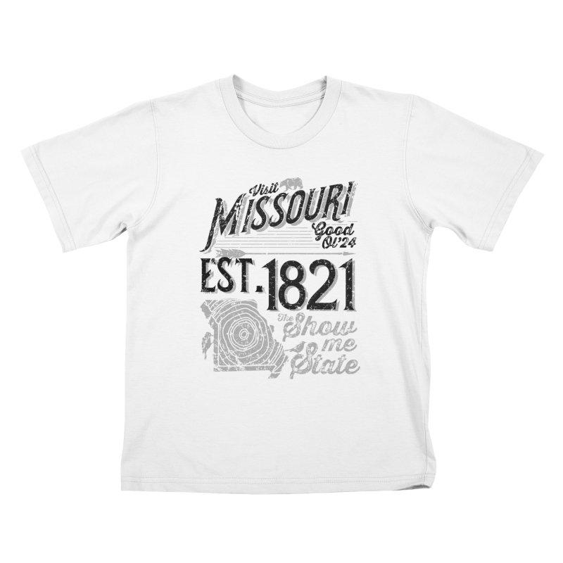 Visit Missouri Kids T-shirt by Jesse Nickles