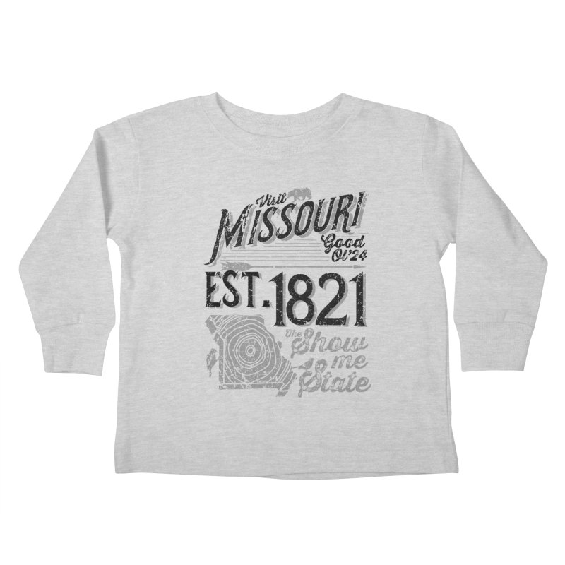 Visit Missouri Kids Toddler Longsleeve T-Shirt by Jesse Nickles