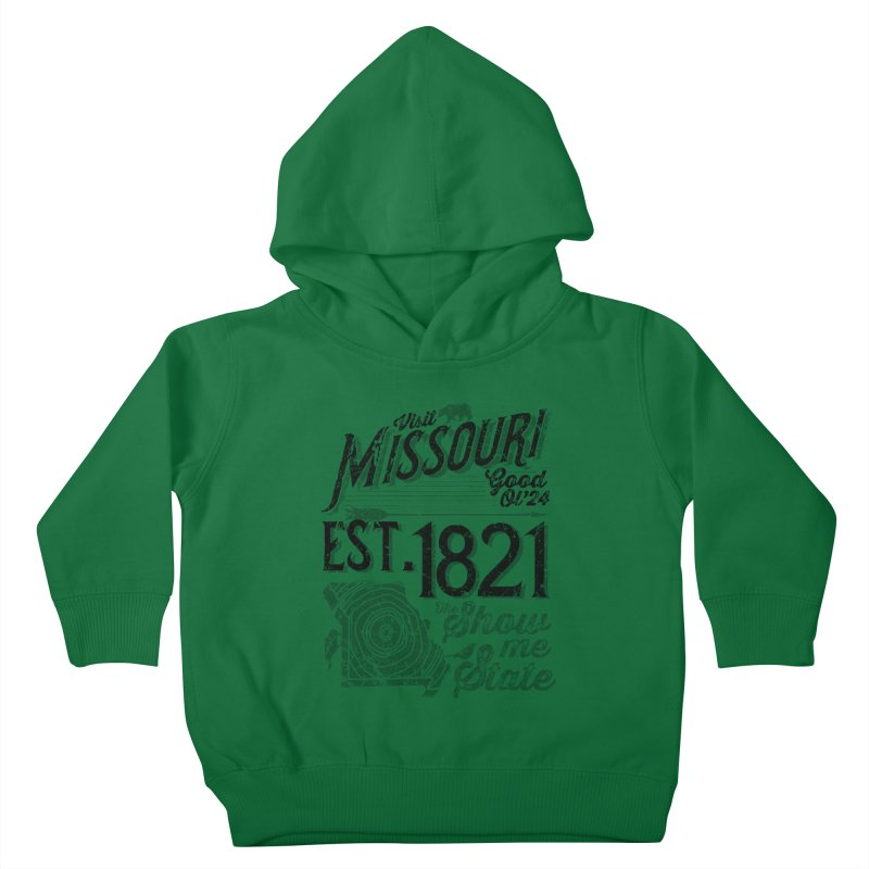 Visit Missouri Kids Toddler Pullover Hoody by Jesse Nickles