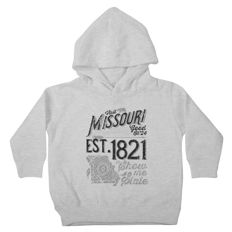 Visit Missouri Kids Toddler Pullover Hoody by Atomica Press