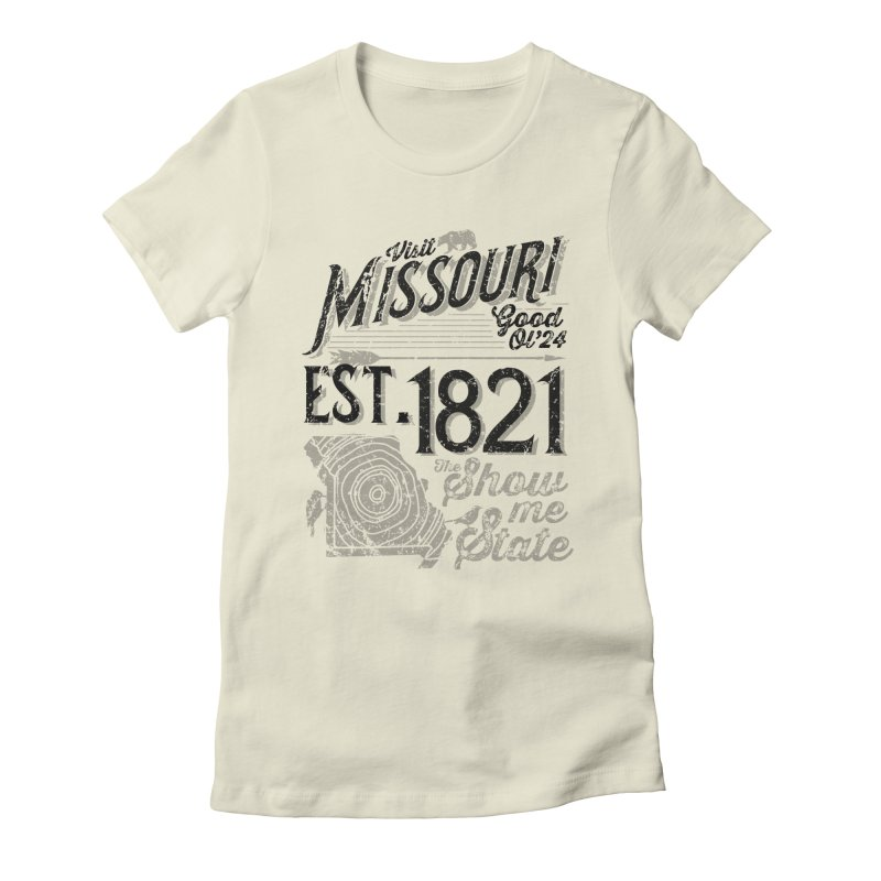 Visit Missouri Women's Fitted T-Shirt by Jesse Nickles