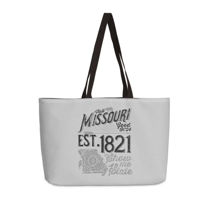 Visit Missouri Accessories Weekender Bag Bag by Jesse Nickles
